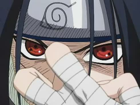 In what episode did Sasuke return to Konoha (leaf village) in Naruto Shippuden?