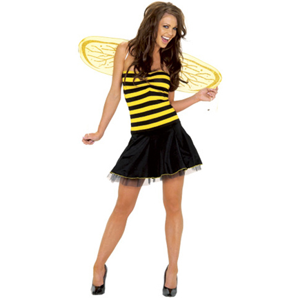Im gonna be a Bee for Halloween! What are you going to be? :D