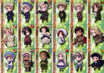 Which Axis Powers Hetalia country are you?
