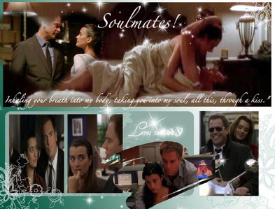 Tony and Ziva! Best couple ever <3 My OTP!! :)