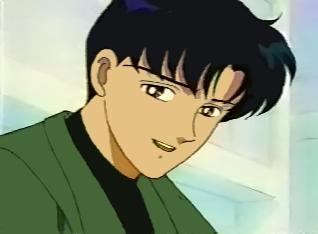 """Mamoru Chiba from """"Sailor Moon"""" :D"""