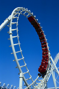 I hate roller coasters. They scare me :(