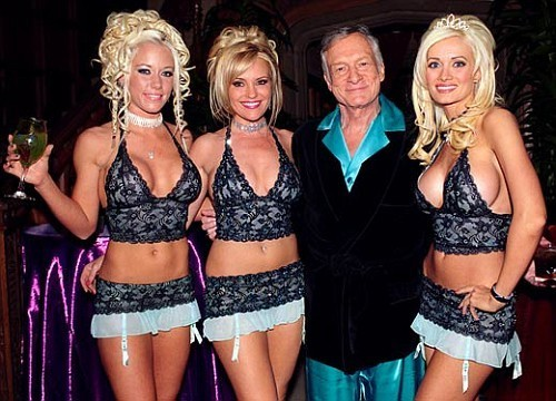 Hugh Hefner, of course!