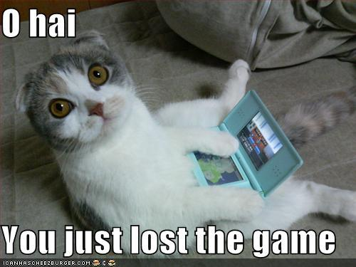 aw i लॉस्ट The Game :'(