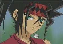 I really don't know, I liked Duke Devlin from Yu-gi-oh first I think.