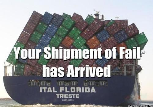 Ur shipment haz arrived