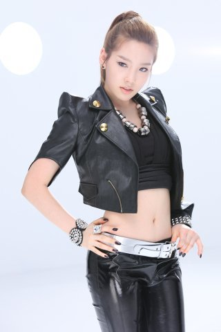 Tae yeon is very cute