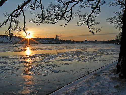 Stockholm, Sweden. This foto is from in the winter time.