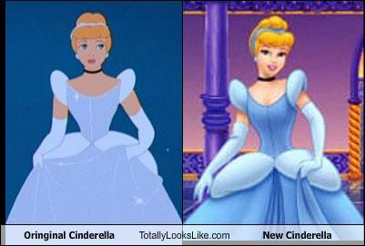 "Well, if toi look [i]really[/i] close, the white does have a blue tint. They just decided to darken it for some reason. It's one of the age-old Disney questions, like, ""Is Cinderella's hair blond ou dirty blond?"" We'll probably never know."