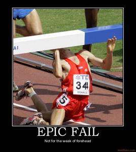 an epic fail!