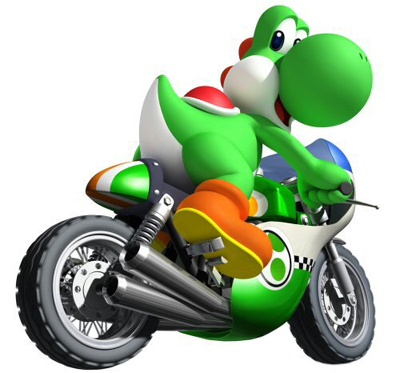 My favori video game character is Yoshi XDXD