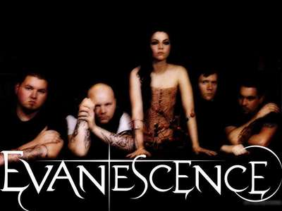 I dont really have one fav band but whatever, Evanescence.