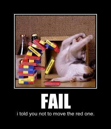 Kitty failed!