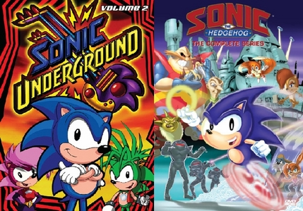 -Sonic the Hedgehog -Sonic Underground (awesome memories)