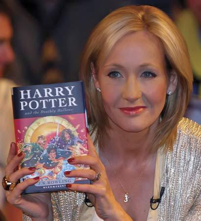 Does any1 reckon that JK Rowling goes overboard a bit in the last book?????