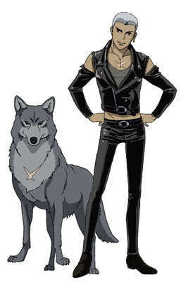 tsume from wolf's rain
