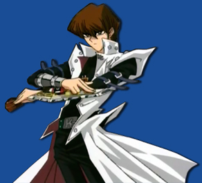Kaiba from YuGiOh Abridged. Whenever he smiles, a anjing, anak anjing dies.