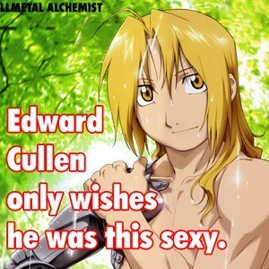 FMA was my first জীবন্ত and I fell in প্রণয় with Edward!! <3 and I still প্রণয় him!! XD