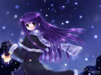 Purple, because of my roleplay character Amena, I became obbessed with it.