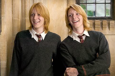 luna lovegood and the weasley twins