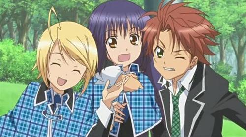 Tai Kamiya fo Digimon!! and Shugo Chara boys!