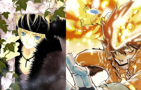 Naruuuto! and maybe then Tsuna in vongola mode <3