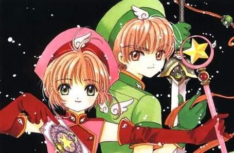 Syaoran Li... CardCaptor Sakura version, of course! <3 Although... Hikaru and Kaoru might be pretty awesome as well <3