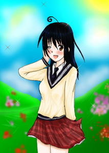 I'm a female Jepun with italy's loopy thing on the bahagian, atas of my head with america's eyes but they're brown, and I have the personalities of all the european, asian, and american countries. I also have italy's big appetite but I eat anything. That's how I look like. (in Anime ver.)