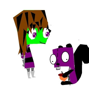 i only have two right now 1. Invader MAZ (girl MEE!!!) 2. GIR2 (girl Maz's S.I.R.) 3. Invader Nikki (girl) 4. Lily (Nikki's S.I.R.)