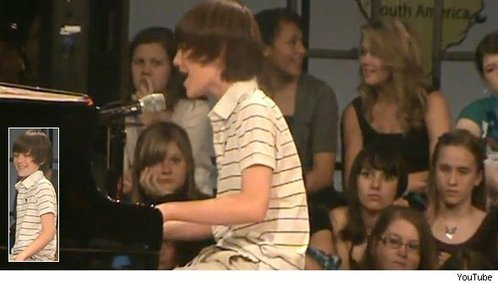 I think I would want to meet Greyson Michael Chance! He is such a good pianist and singer even at 12!