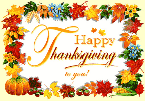 Happy Thanksgivng day!