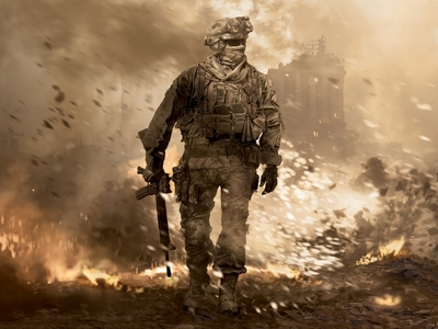 My favorito! game is call of duty modern warfare 2.
