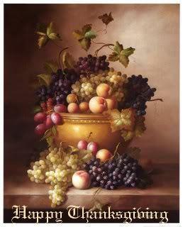I wish आप all a joyful, happy Thanksgiving♥