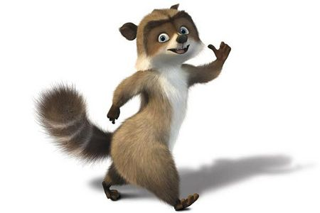 RJ from Over the hedge!