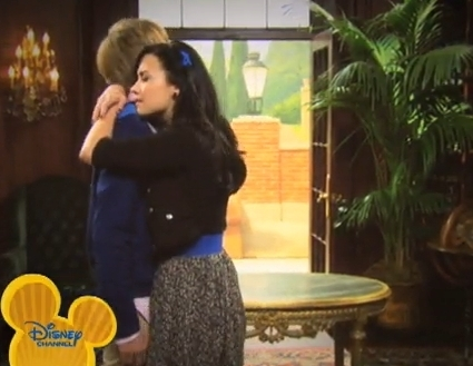Not, not really but they do kiss in Sonny With A Kiss which I checked on Wikipedia and I bet u it's going to be amazing!!! :D