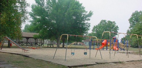 I live in Gillespie, Illinois. The town is so small, and unreconised that there isn't even a real picture for it.. I'll just post a picture of this park. It's near my house, so I hang out there often.
