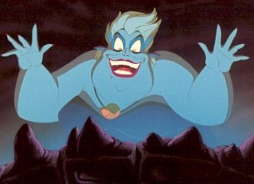 Ursula!!!! She is beyond awesome!! XD
