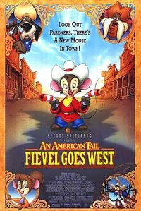 I really don't have the time to watch cartoons, I would just say Fivel from Fievel Goes West.