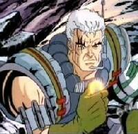Cable is my inayopendelewa character in the comics too but he was also in the 90's cartoon
