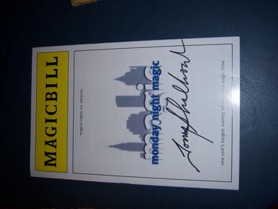 do Du know where I can sell my Tony Shaloub autographed play bill ?