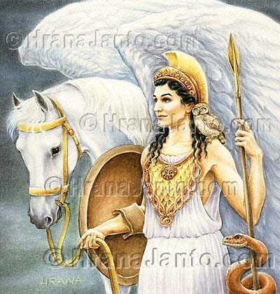 athena, who is totally awesome! i'm annabeths half sister! (and im really smart!!)