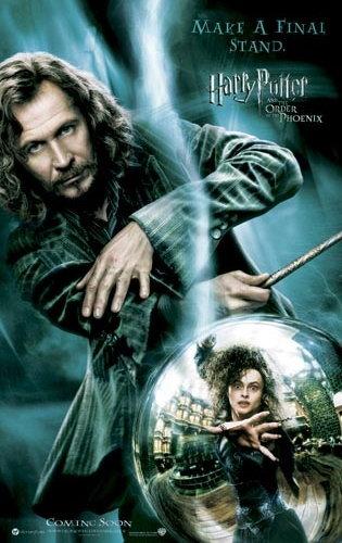 1.Sirius 2.Bellatrix 3.Snape 4.Dobby 5.Tonks