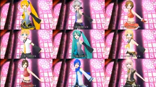 I have now changed it.Now it is Vocaloid I know 8 of them but I don't know the one who looks like Meiko