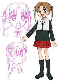 -Mikan Sakura from Gakuen Alice.