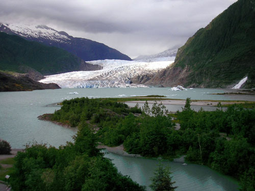 Alaska!! It is so wintery, cold, and unique. I'd cinta to live there, it's just so amazing.