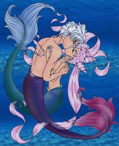 Put a picture of an actual জীবন্ত character as a Mermaid..or a Merman I don't discriminate.