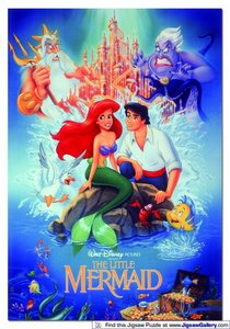 I cant choose, all of them. But Ariel and Sebastian the most.
