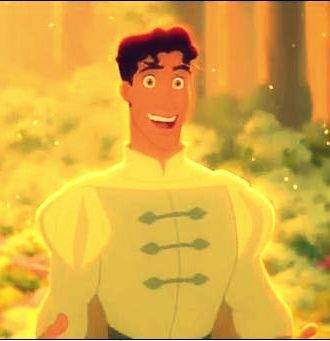 I'm going to break the chain here and say Naveen. He's hilarious, suave, funny, and incredibly hot, to me, the second hottest prince. And certainly the most realistic looking one, especially in close ups. He's incredibly charming and wonderful.