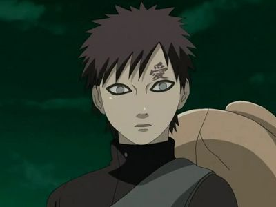 Mine is Gaara from Naruto: Shippuden