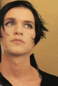 Well as we all know Kurt Cobain is dead... So my सेकंड choice is Brian Molko from Placebo!
